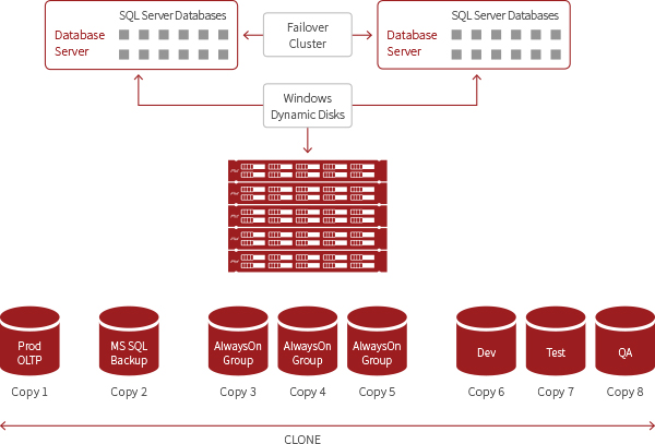 Microsoft SQL Server Database and SolidFire Storage